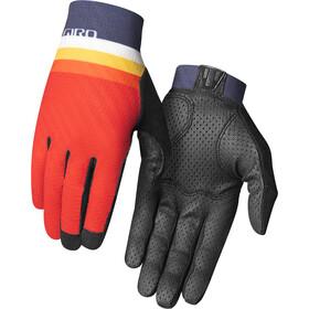 Giro Rivet CS Guantes, naranja/azul